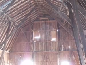 halcyon acres truss barn loft