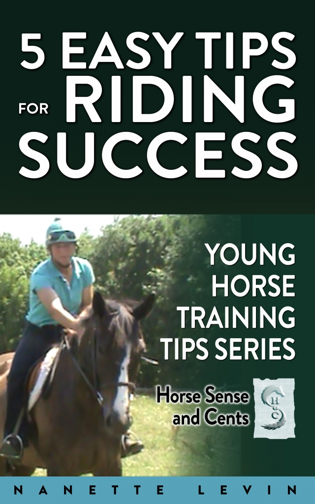 Young Horse Training Tips Book One - 5 easy tips for riding success